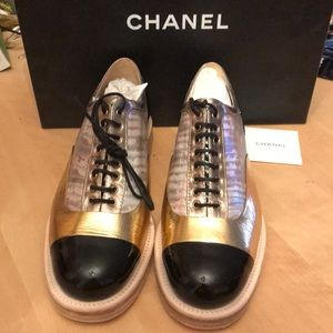NWT! Chanel Cuba Cruise Patent Shoes